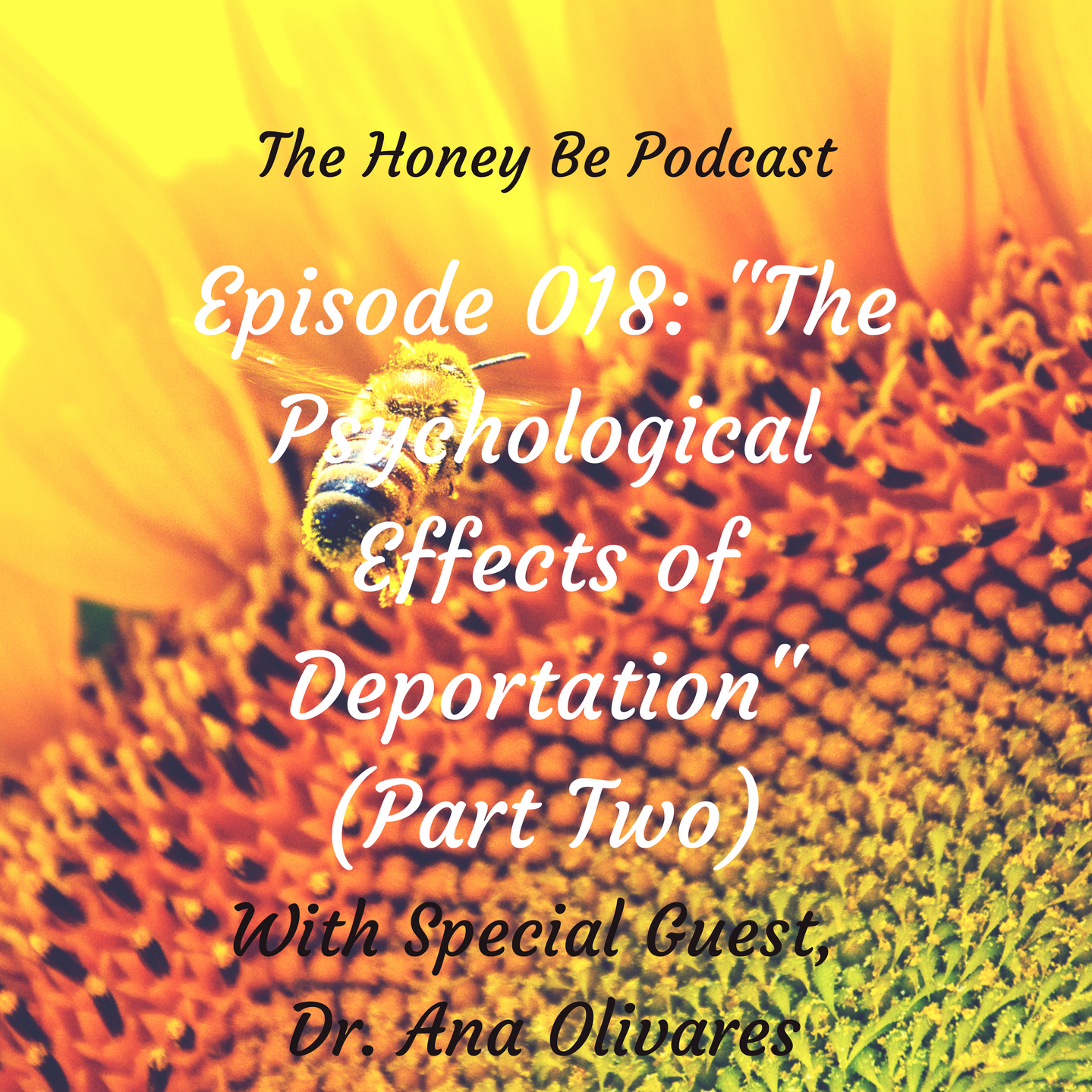 "The Honey Be Podcast – Episode 018: ""The Psychological Effects of Deportation"" (Part Two)"